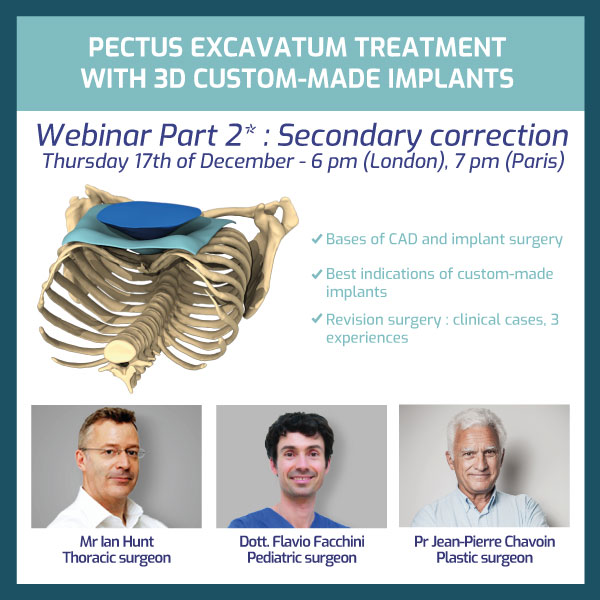 Part 2 of the 3 Pectus specialists : Secondary surgeries