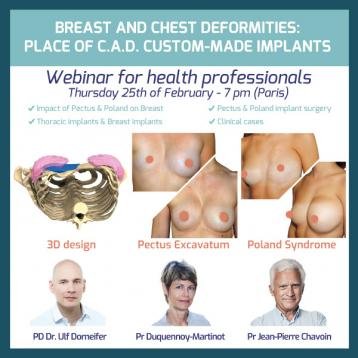 Webinar Breast and Chest Deformities by Pr Martinot-Duquennoy and Dr Dornseifer